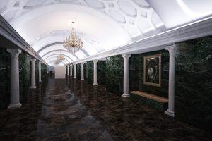 Эскизный дизайн-проект станции Шереметьевской