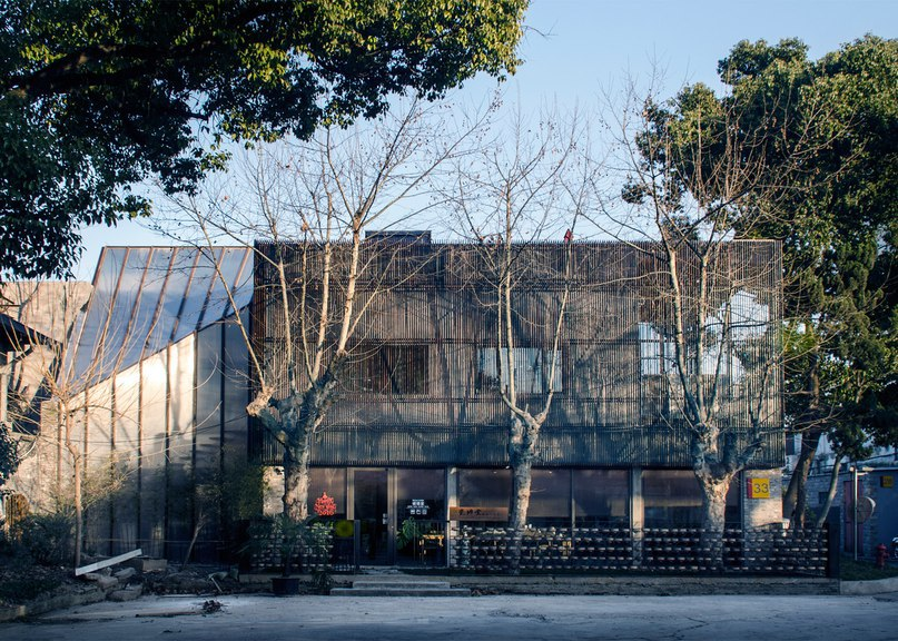 Archi-Union Architects transforms abandoned Shanghai warehouse into