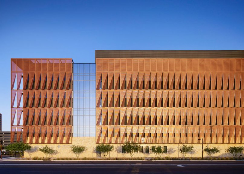 ZGF wraps #Arizona #medical #facility in layer