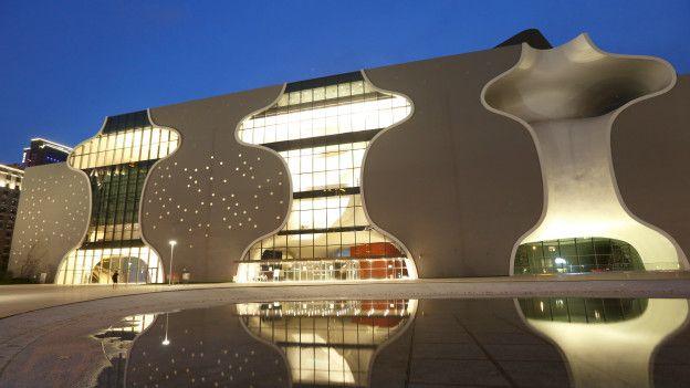4. Национальный театр Тайчжуна, Тайвань При проектировании национального