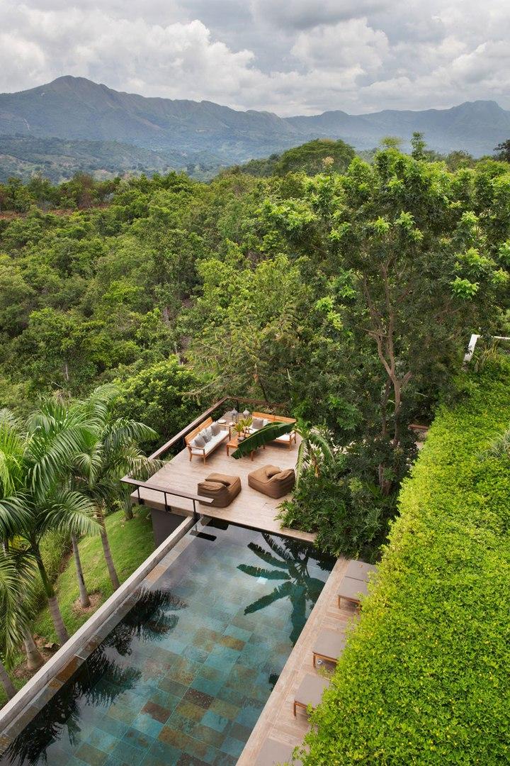 Частный дом в Колумбии