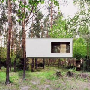 Студия REFORM Architekts во главе с архитектором Мартином Томашевским разработала уникальный частный дом Mirror Magic в лесу недалеко от Варшавы, который существует в симбиозе с окружающей средой.