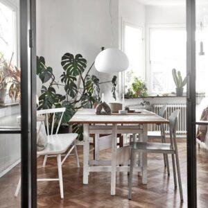 Светлая скандинавская квартира в Гетеборге