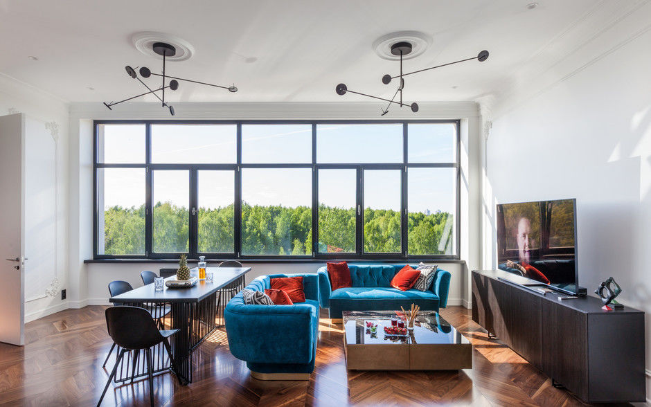 Квартира 110 м² для холостяка в Минске от студии Interra    01