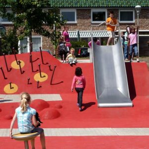 Van Campenvaart Playground by Carve Landscape Architecture